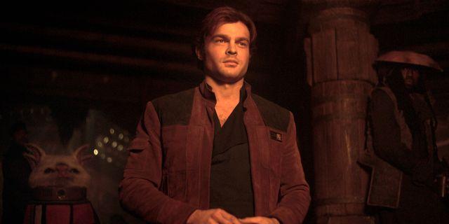 Alden Ehrenreich i rollen som Han Solo. null / TT / NTB Scanpix