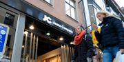JC:s butik i centrala Stockholm. ANDERS WIKLUND / TT