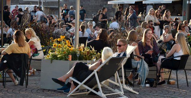 Torg i Helsingfors, Finland/Arkivbild.  Jussi Nukari / TT NYHETSBYRÅN