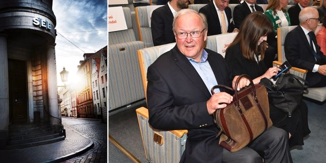 Swedbanks ordförande Göran Persson.  TT