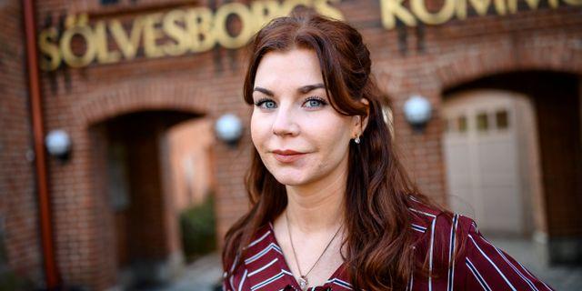 Sverigedemokratern Louise Erixon. Arkivbild. Johan Nilsson/TT / TT NYHETSBYRÅN