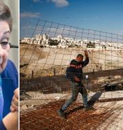 Arkivbild: Hanan Ashrawi/Bosättningar på Västbanken TT