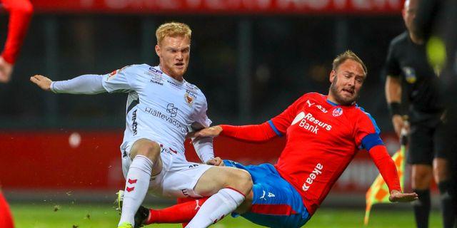 Match mellan Helsingborg och Kalmar.  Andreas Hillergren/TT / TT NYHETSBYRÅN