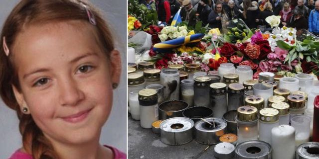 11-åriga Ebba dog i attacken. TT.