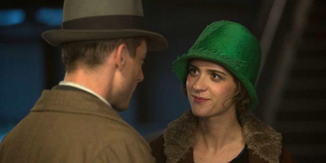 """Charlotte Ritter (Liv Lisa Fries) och Gereon Rath (Volker Bruch) i """"Babylon Berlin"""".  SVT"""