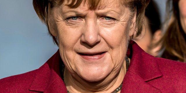 Angela Merkel, arkivbild. Michael Kappeler / TT / NTB Scanpix