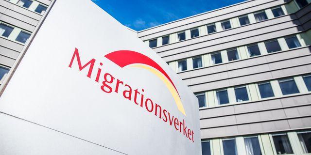 Migrationsverket.  Adam Wrafter/SvD/TT / TT NYHETSBYRÅN