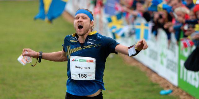 Gustav Bergman. ORIENTERINGSFÖRBUNDET / BILDBYRÅN