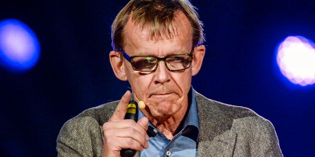 Hans Rosling Jessica Gow/TT / TT NYHETSBYRÅN