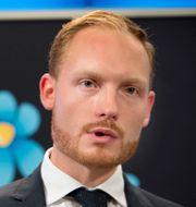 Aron Emilsson.  Jessica Gow/TT / TT NYHETSBYRÅN