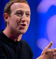 Facebooks vd Mark Zuckerberg. Trent Nelson / TT NYHETSBYRÅN