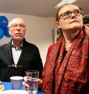 AFD:s valvaka under valet i Hamburg Frank Molter / TT NYHETSBYRÅN