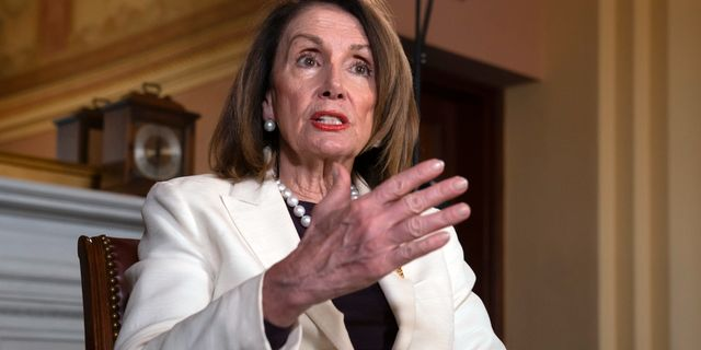 Nancy Pelosi. J. Scott Applewhite / TT NYHETSBYRÅN/ NTB Scanpix