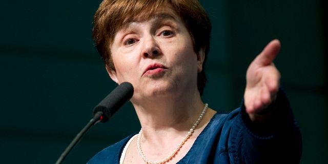 Kristalina Georgieva. Jose Luis Magana / TT NYHETSBYRÅN