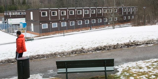 Arkivbild: Asylboende i Fagersjö i Farsta. Fredrik Sandberg/TT / TT NYHETSBYRÅN