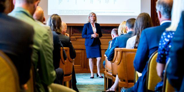 Svenska Handelsbankens vd Carina Åkerström. Arkivbild. Magnus Andersson/TT / TT NYHETSBYRÅN