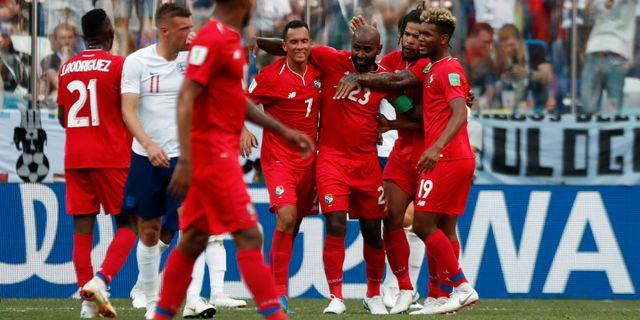 Felipe Baloy  gjorde det historiska VM-målet för Panama MURAD SEZER / BILDBYR N