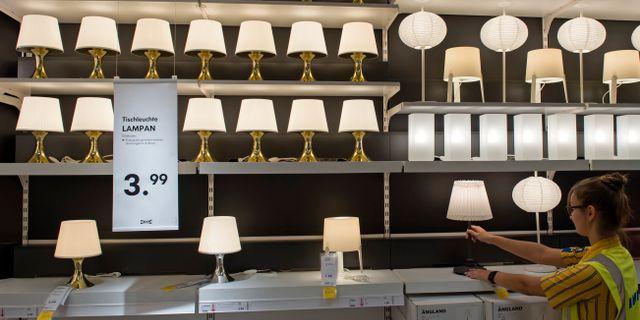 Ett av Ikeas varuhus i Tyskland. Jens Meyer / TT / NTB Scanpix