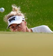 Golfaren Anna Nordqvist.  Matt Slocum / TT NYHETSBYRÅN