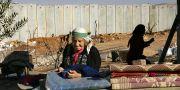 En kvinna i byn Hizma utanför Jerusalem.  ODED BALILTY / TT NYHETSBYRÅN