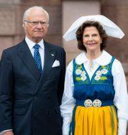 Kung Carl Gustaf och drottning Silvia Pontus Lundahl/TT / TT NYHETSBYRÅN