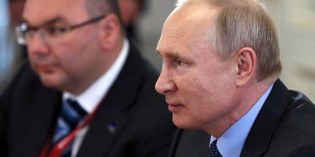Vladimir Putin. POOL / TT NYHETSBYRÅN
