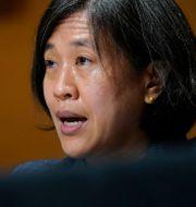 USA:s handelsrepresentant Katherine Tai. Arkivbild Susan Walsh / TT NYHETSBYRÅN
