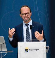 Infrastrukturminister Tomas Eneroth (S).  Thommy Tengborg/TT / TT NYHETSBYRÅN
