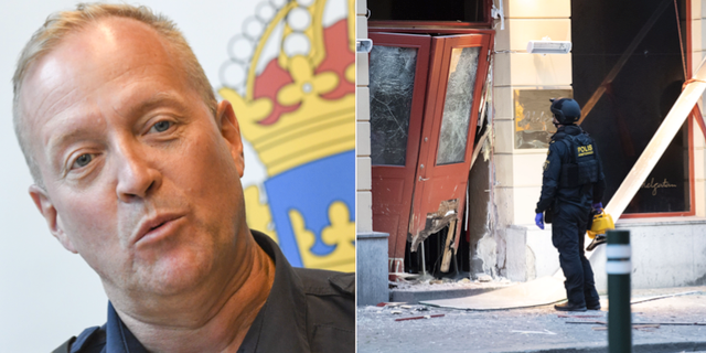 Andy Roberts, lokalpolisområdeschef i Malmö. TT