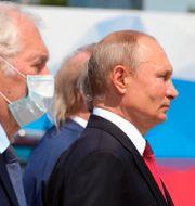 Valdimir Putin.  Mikhail Klimentyev / TT NYHETSBYRÅN