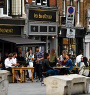 Pub i London.  Alberto Pezzali / TT NYHETSBYRÅN