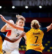 Bild från dagens kvartsfinal. CARL SANDIN / BILDBYRÅN