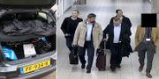 Hackarutrustning i ryssarnas bil/de fyra utpekade GRU-agenterna. TT