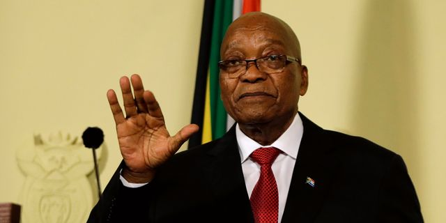 Jacob Zuma  Themba Hadebe / TT NYHETSBYRÅN