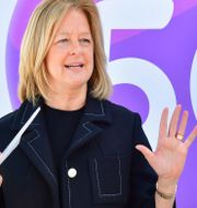 Allison Kirkby, vd och koncernchef för Telia.  Jonas Ekströmer/TT / TT NYHETSBYRÅN