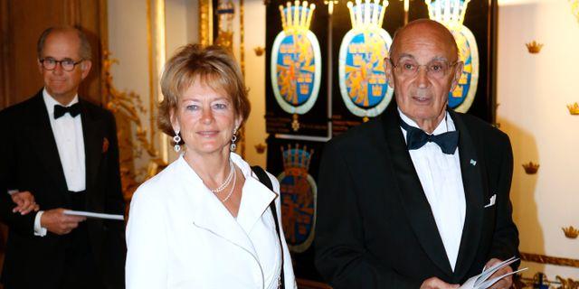 Ulf Adelsohn och Lena Adelsohn Liljeroth Christine Olsson/TT / TT NYHETSBYRÅN