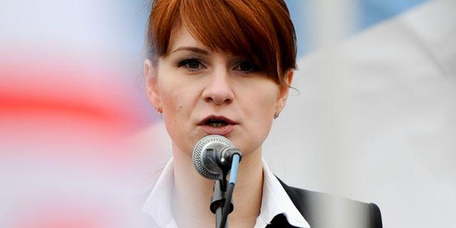 Maria Butina. TT NYHETSBYRÅN