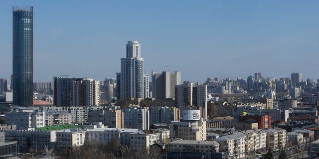 Arkivbild från Jekaterinburg.  SERGEI KARPUKHIN / TT NYHETSBYRÅN