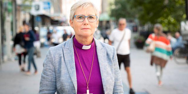Biskop Susanne Rappmann. Kristin Lidell