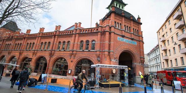 Östermalmshallen i Stockholm. Claudio Bresciani / TT / TT NYHETSBYRÅN