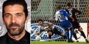 Buffon år 2018 och Buffon år 2001. TT