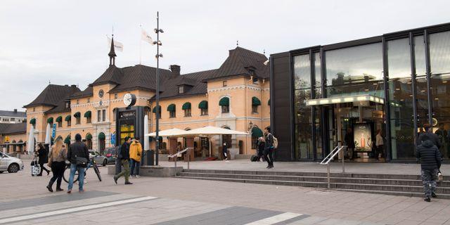 Resecentrum i Uppsala.  Fredrik Sandberg/TT / TT NYHETSBYRÅN