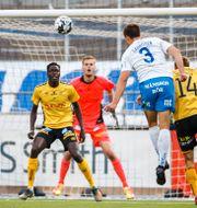 Rasmus Lauritsen gör 1–1. JOSEFINE LOFTENIUS / BILDBYRÅN