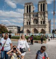 Notre-Dame/Arkivbild från i somras Adrienne Surprenant / TT NYHETSBYRÅN