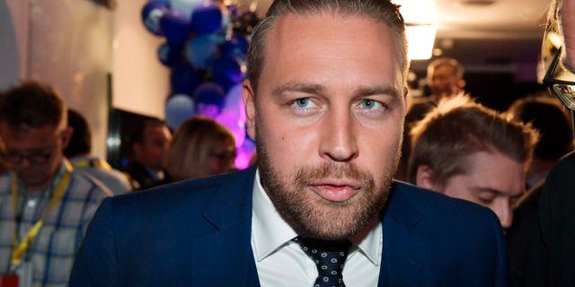 Mattias Karlsson (SD). Anders Wiklund/TT / TT NYHETSBYRÅN