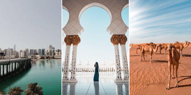 Abu Dhabi. Iva Prime/Oliver Sjöström/Nizam Abdul Latheef/Pexels