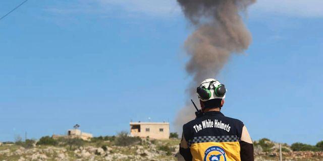 Bild från Idlib från i början av maj. Uncredited / TT NYHETSBYRÅN/ NTB Scanpix