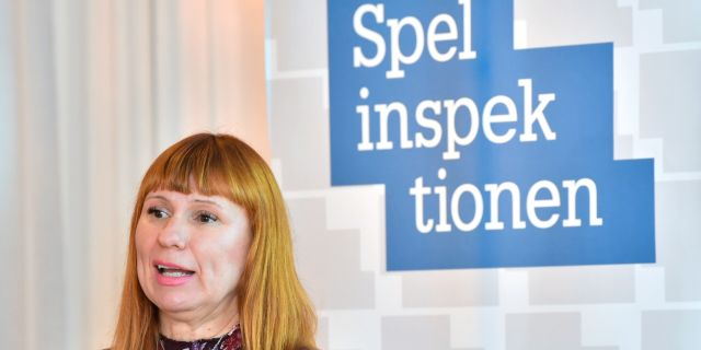 Camilla Rosenberg, Spelinspektionens Generaldirektör Jonas Ekströmer/TT / TT NYHETSBYRÅN