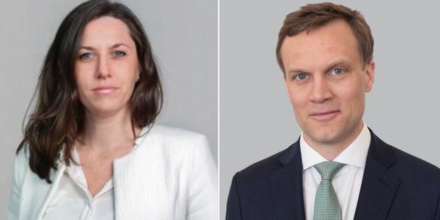 Cathrine Danin och Johan Löf. Pressbilder.
