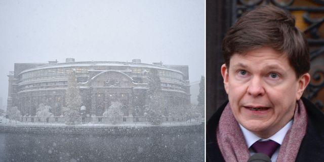 Riksdagshuset/talman Andreas Norlén. TT